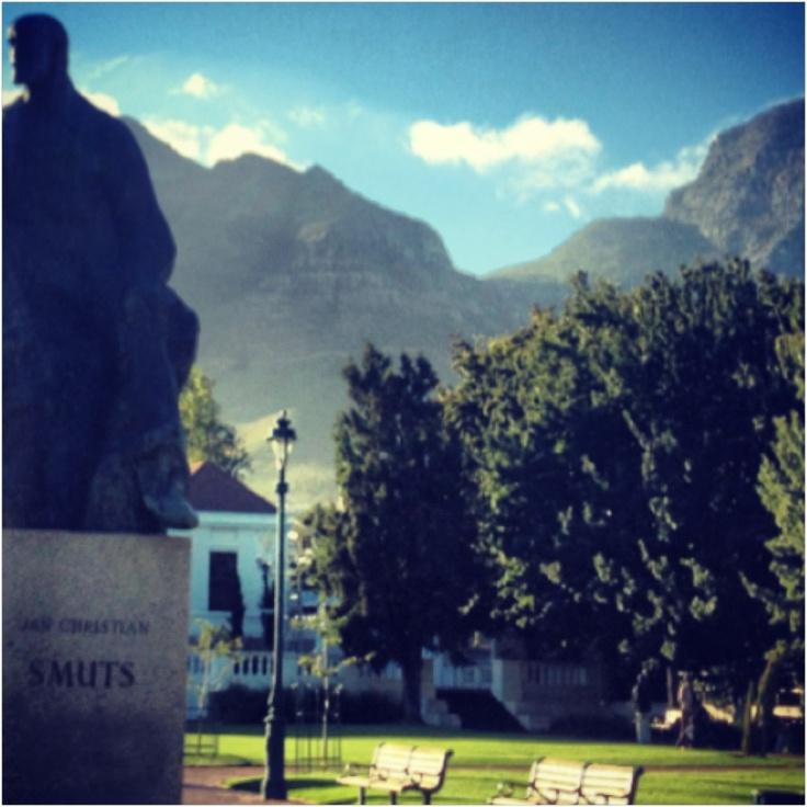 Company Gardens, Table Mountain, Cape Town
