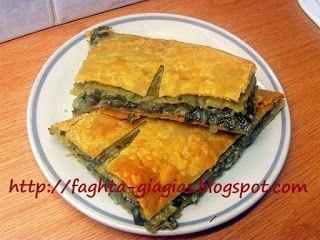 Χωριάτικη πίτα με σέσκουλα και κρεμμύδια
