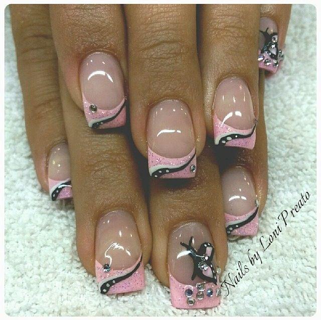 Acrylic nails by Loni @ DaLonnie's Hair & Nail Salon in Las Vegas, NV