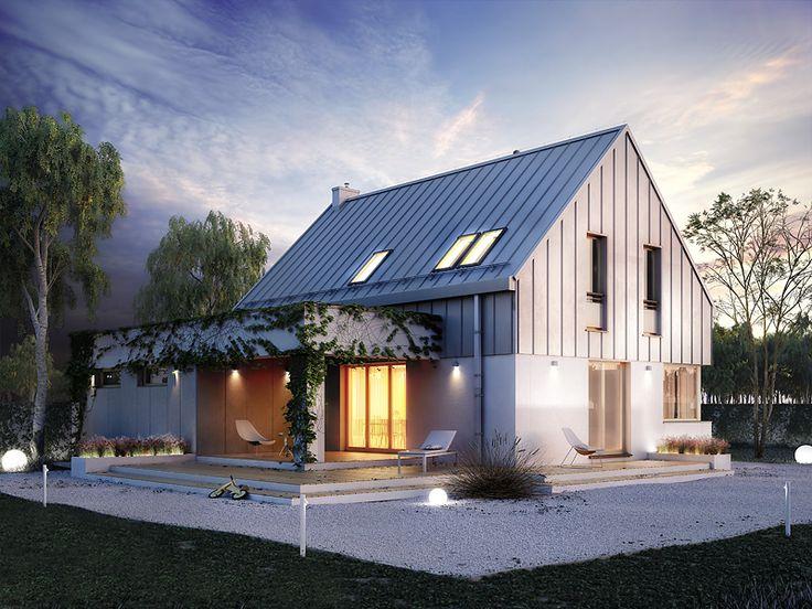 Projekt Antara (116,38 m2). Pełna prezentacja projektu dostępna jest na stronie: https://www.domywstylu.pl/projekt-domu-antara.php #antara #domywstylu #mtmstyl #projekty #projektygotowe #dom #domy #projekt #budowadomu #budujemydom #design #newdesign #home #houses #architecture #architektura