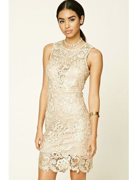 metallic-floral-bodycon-dress by f21-contemporary  #prom #dress #fashion #trends #onlineshopping #shoptagr
