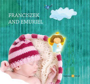 okładka książki ze zdjęciem dziecka wyciętym z tła. Wersja książeczki w języku angielskim.
