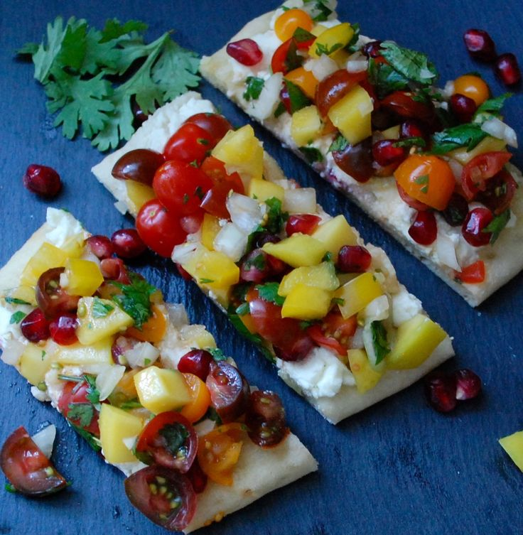 Mango Salsa Flatbread