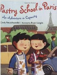 FREE activity for this math picture book: Pastry School in Paris: An Adventure in Capacity