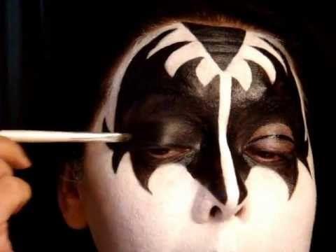 KISS SERIES | Gene Simmons The Demon Make Up Tutorial Pt 1