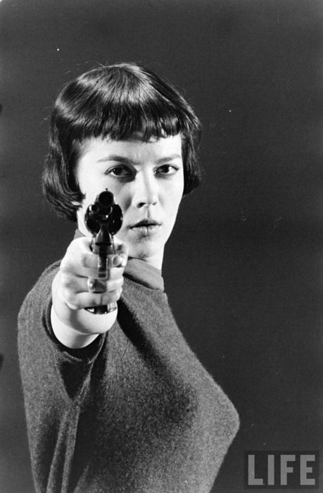 20 Best Woman With A Gun Images On Pinterest