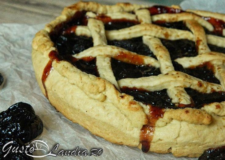Tarta cu prune uscate (de post)