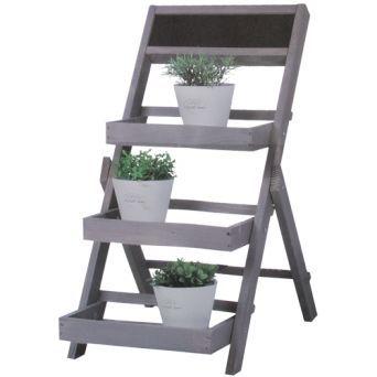 EUR 11,95 tuin etagere 3-laags ca.80cm greywash