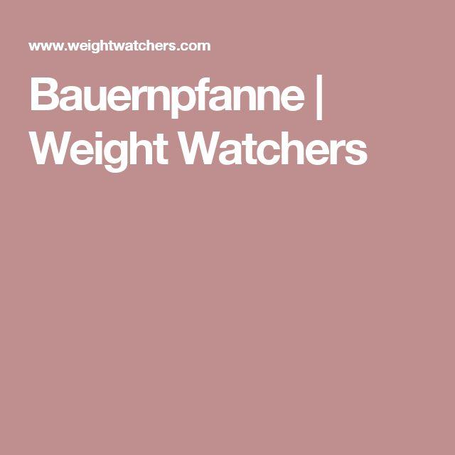 Bauernpfanne   Weight Watchers