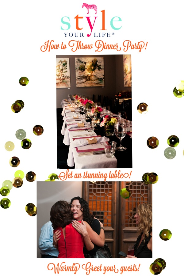 Style Your Life: Turning 40 Rocks: Dinner Party