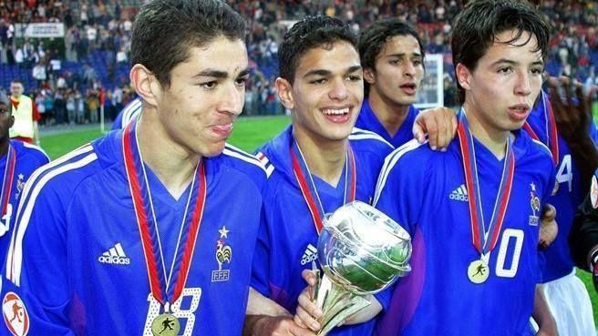 Benzema, Ben Arfa, Nasri a few years ago.