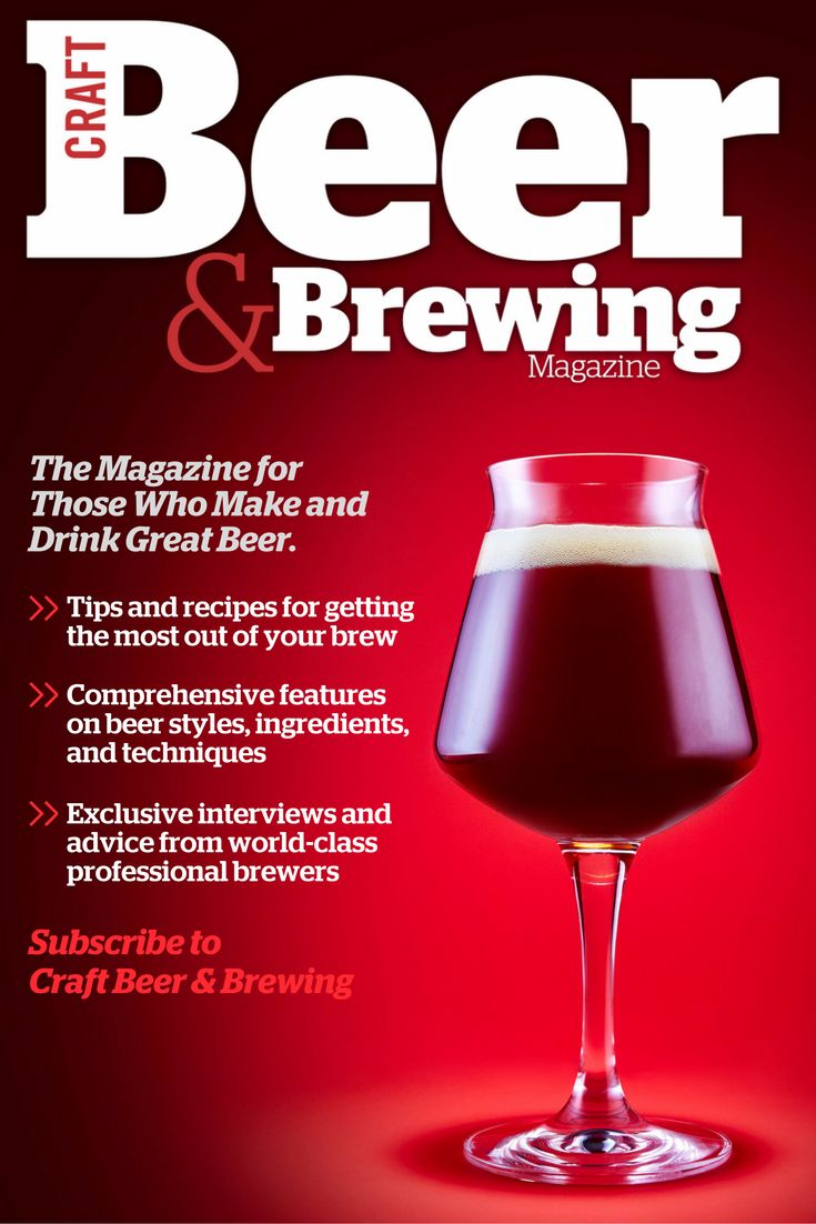 Subscription to Craft Beer u0026 Brewing Magazine