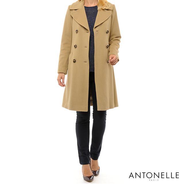 Vous n'avez jamais essayé le style dépareillé ? L'hiver est là, c'est le moment !  #Antonelleparis #beige #manteau #hiver #clothing #lookoftheday  #lookbook #womenswear #antonelle #paris