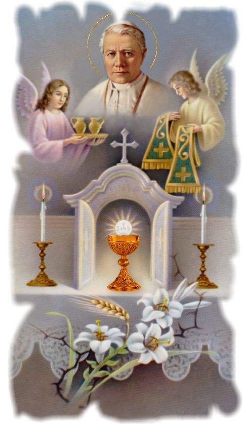 Lessons 4-6 from the Divine Office for St. Pius the Tenth, Pope and Confessor: . . Pope Pius X, whose name previously was Joseph Sarto, w...