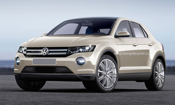 volkswagen tiguan 2016 t roc render release date review and pictures. Black Bedroom Furniture Sets. Home Design Ideas