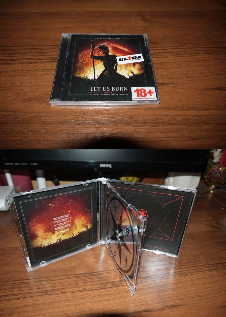 Within Temptation - Let Us Burn (2CD Russia) 2015