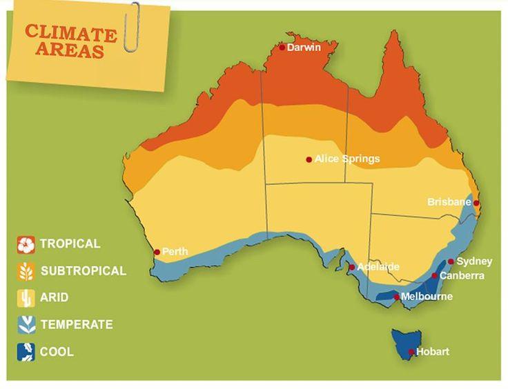 Climate areas in Australia Nature in Australia Pint