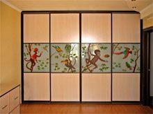 Встроенный шкаф купе «Зов джунглей»