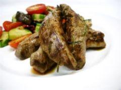 Garlic Lemon Rosemary Lamb Fillet Recipe - Dinner