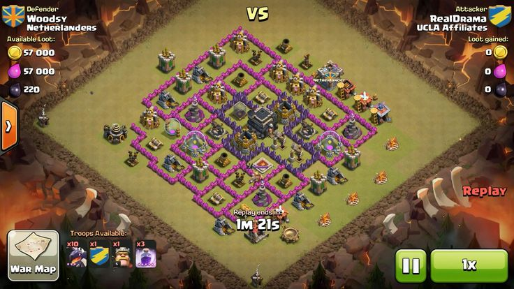 Attacker TH8: 10 Level 3 Dragon, 5 Level 6 Balloon, Level 5 Barbarian King, 3 Level 5 Rage Spell Defender TH9: Level 2 Barbarian King, Rank 8/20
