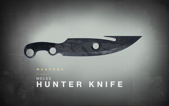 Bungie : News : Destiny Drawing Board: The Hunter's Knife