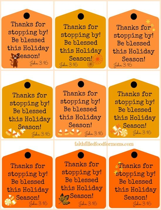 halloween blessing printable - Halloween Decorations Printable