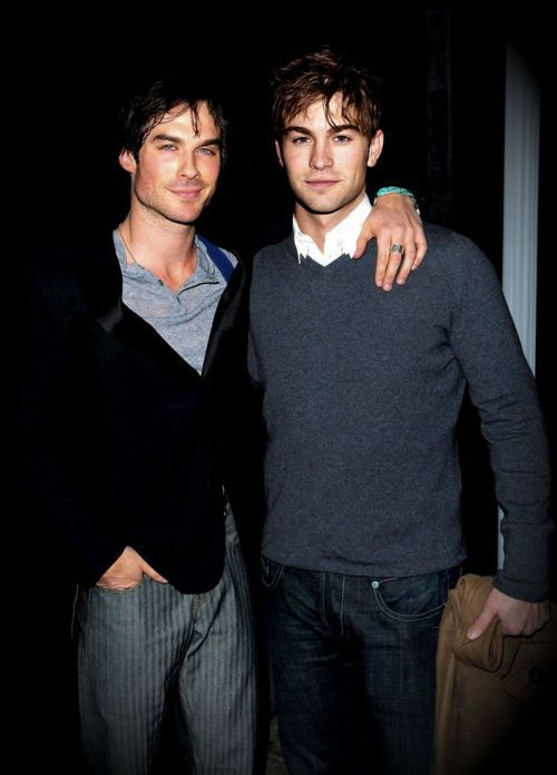 Two of my favorite hottest men. Chace Crawford and Ian Somerhalder. Double take ;)