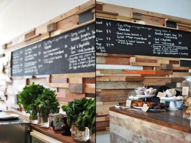 Slowpoke Espresso Cafe designed using Recycled Materials