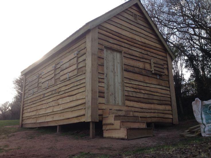 wood cabin, Hunting Cabin shutters, The Wooden Workshop, Oakford, Tiverton, Devon. | The Wooden Workshop | Oakford, Devon