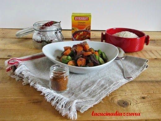 La Cucina di Azzurra: POLLO GARAM MASALA ANACARDI e il mio adorato CORIA...