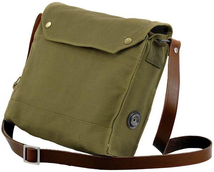 Indiana Jones Satchel Gas Mask mkvii Bag