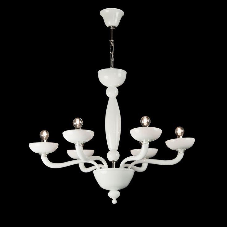 Borealis Murano Glass Chandelier Made In Venice Italy