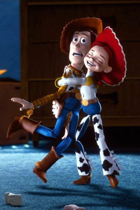Pyra and Theo would totally dress up as Woody & Jessie (after the movies come out)