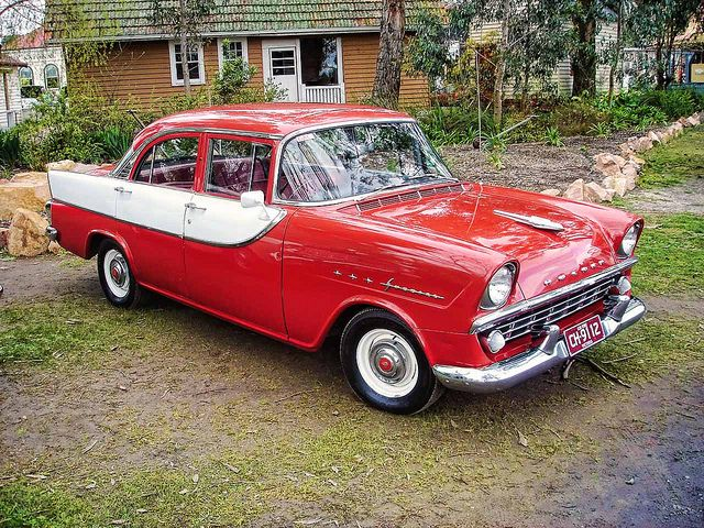 1960 Holden FB Special 4 Door Sedan, Made  in Melbourne, Australia by General Motors Holden.