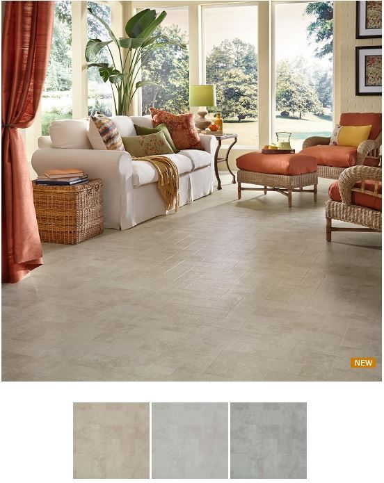 """Brick design floor that captures the """"Urban Renewal"""" trend of salvaged architectural materials, Union Way is an adaptable floor. From traditional to dramatic style, this vinyl floor is sure to fit your decor needs. www.homeology.co.za"""