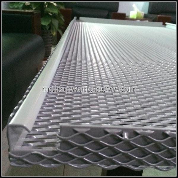 Aluminum Expanded Metal Ceilingperforated metal ceiling WMR008  China Aluminum Metal Ceiling