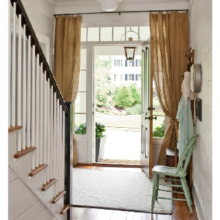 Superb Love This Idea From Southern Living Magazine: Curtains Around A Door.