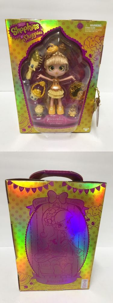 Other TV Movie Character Toys 2622: Sdcc 2016 Exclusive Shopkins Shoppies Golden Jessicake Limited Edition 1278 2000 -> BUY IT NOW ONLY: $169.99 on eBay!