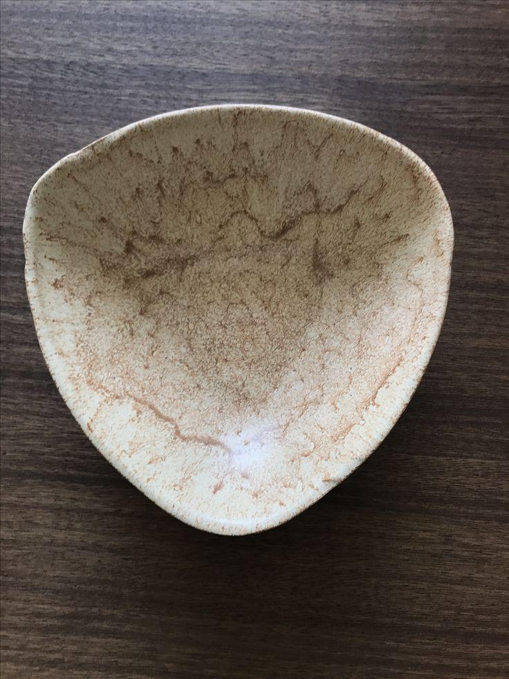 #handmade#by#me#unique#ceramic#bowl#plate#brown#sand#ceramics#ceramicbowl#ceramicplate#glaze#clay#ceramiclovers#saladbowl