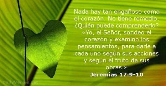 Resultado de imagem para jeremias 17:9,10