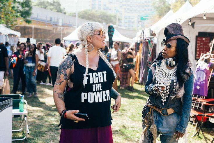 Afropunk 2016 Street Style Makes Other Music Festivals Look Lazy Photos | W Magazine