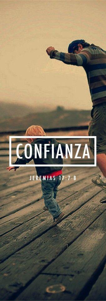 Jeremias 17:7-8  »Bendito el hombre que confía en el Señor, y pone su confianza en él. Será como un árbol plantado junto al agua, que extiende sus raíces hacia la corriente; no teme que llegue el calor, y sus hojas están siempre verdes. En época de sequía no se angustia, y nunca deja de dar fruto.»