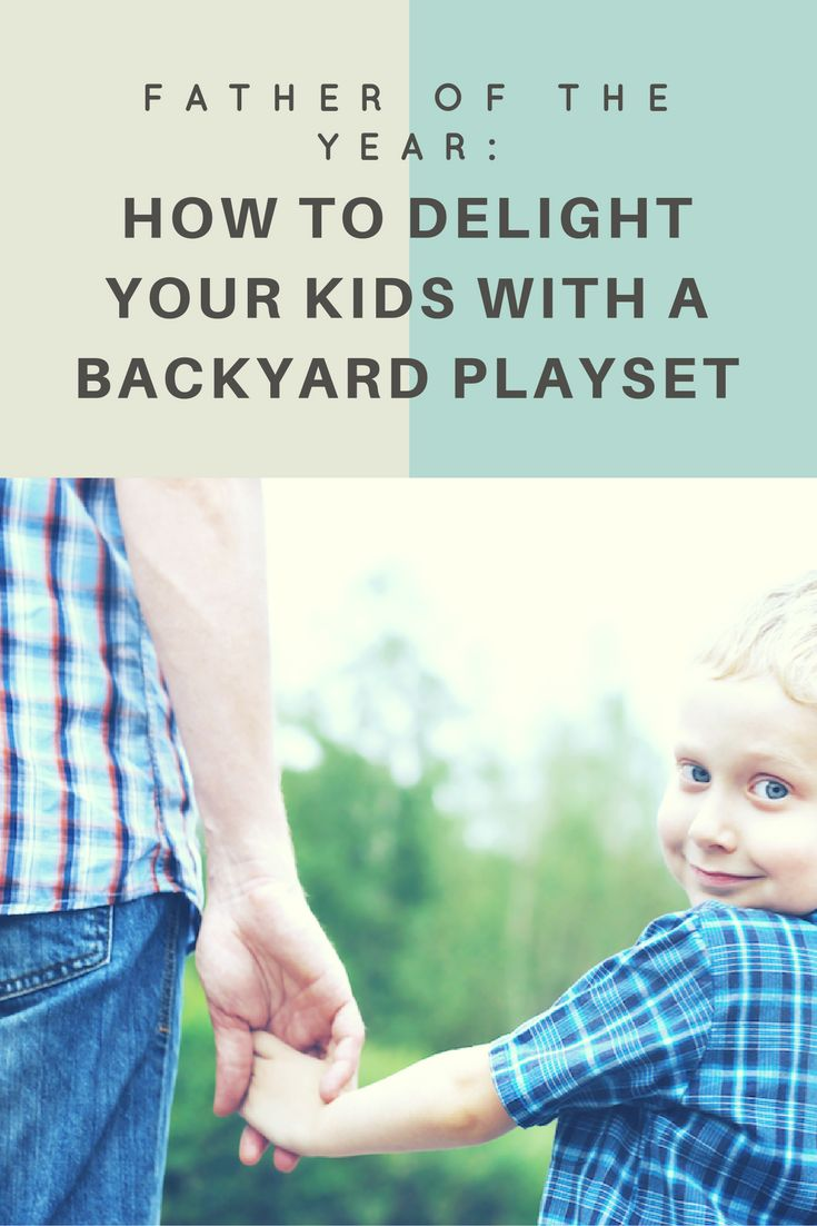 Here's a few ways that an outdoor playhouse can become your ticket to daddy stardom.
