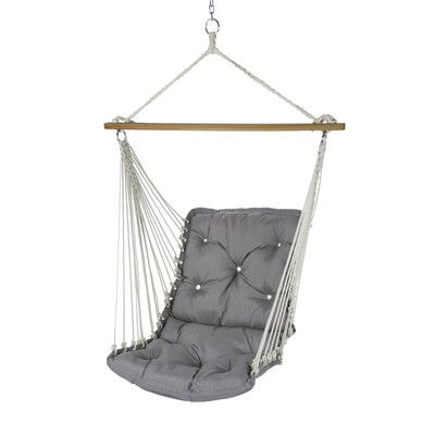 Found it at Wayfair - Tufted Single Swing Chair