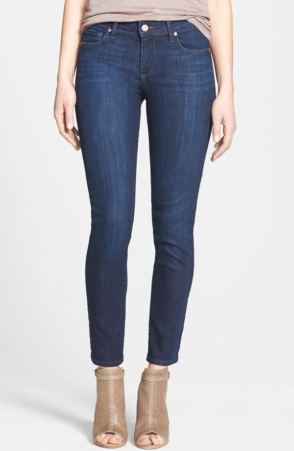 'Skyline' Ankle Peg Skinny Jeans (Dixie) (Nordstrom Exclusive) / Paige