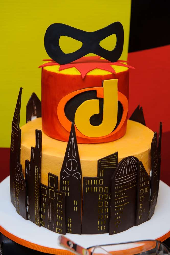 the incredibles birthday party ideas