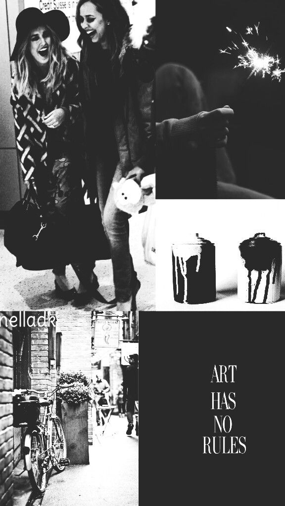¤Art has no rules¤  Jerrie lockscreen.💫❣