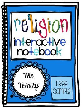 Have you started a Religion Interactive Notebook with your students? This resource can be used in an INB, as a worksheet, or a foldable...whatever meets your class needs!   Please let me know if you have any suggestions, questions, or comments!  Thank you!