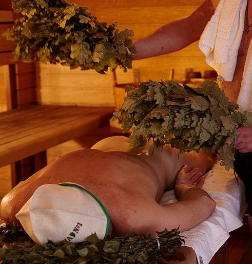 Organic spa treatments in steam room, on hot stone, Healing Russian massage, Exfoliating Honey & Salt or Coffee scrub, Aloe Vera full body mask, Mud wrap