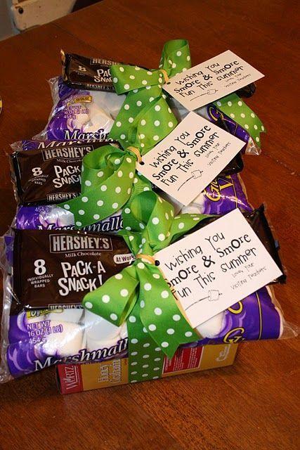 Oodles of simple but cute gift ideas -- neighbors, secret pals, teachers, etc.
